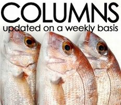 Weekly columns on food